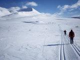The Track Towards Peer Gynthytta, Below Mount Smiubelgen, Rondane National Park, Norway Photographic Print by Kim Hart