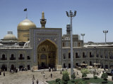 Shrine of Immam Riza, Mashad, Iran, Middle East Photographic Print by Robert Harding