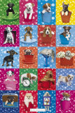 Kimberlin Dog Collage Affiches