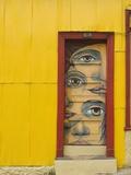 Valparaiso, Chile, South America Fotografisk trykk av Michael Snell