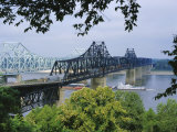 Mississippi River, Vicksburg, Mississippi, USA Reproduction photographique par Tony Waltham