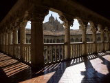 Cathedral Viewed from the Cloisters of Las Duenas Convent, Salamanca, Castile Leon, Spain Photographic Print by Ruth Tomlinson