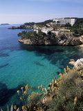 Cala Fornels, Palma, Majorca, Balearic Islands, Spain, Mediterranean Fotografie-Druck von Tom Teegan