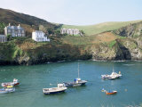 Port Isaac, Cornwall, England, United Kingdom Lámina fotográfica por Adam Woolfitt