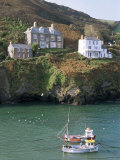 Port Isaac, Cornwall, England, United Kingdom Reproduction photographique par Adam Woolfitt