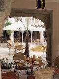 Dining Area, Usha Kiran Palace Hotel, Gwalior, Madhya Pradesh State, India Reproduction photographique par John Henry Claude Wilson