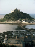 St. Michaels Mount, Cornwall, England, United Kingdom Photographic Print by Adam Woolfitt