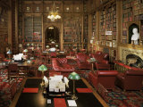 The Lords Library, Houses of Parliament, Westminster, London, England, United Kingdom Fotografie-Druck von Adam Woolfitt
