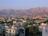 View of the City, Aqaba, Jordan, Middle East Reproduction photographique par Alison Wright