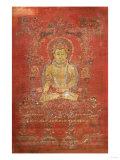 A Tibetan Thang.Ka Depicting Ratnashambhava, Early 14th Century Giclée-tryk