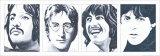 The Beatles Poster von Bob Celic