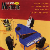 Chick Corea - Live in Montreux Poster