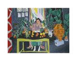 Interior with an Etruscan Vase, c.1940 Affiches par Henri Matisse