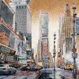 Crossroads, Times Square Poster di Matthew Daniels