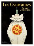Les Couronnes, Sodas Limonades Lámina giclée por Leonetto Cappiello
