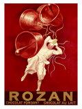 Rozan Chocolat Giclee-trykk av Leonetto Cappiello