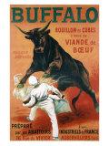 Buffalo Bouillon Giclee-trykk av Leonetto Cappiello