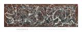 Nummer 13A: Arabesque Kunstdrucke von Jackson Pollock