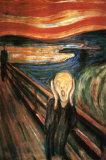 El grito Láminas por Edvard Munch