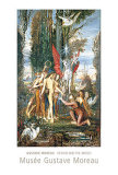 Hesiod and the Muses Print by Gustave Moreau