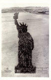 Human Soldier Statue Of Liberty Stampa master