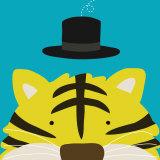 Peek-a-Boo XI, Tiger Posters by Yuko Lau