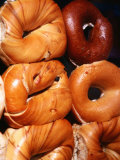 Bagels, New York City, New York Fotografie-Druck von Michael Gebicki