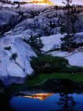 Boulder Creek Basin, Trinity Alps, California Fotografisk tryk af John Elk III