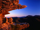 Rock Formation Known as the Balconies, Grampians National Park, Victoria, Australia Fotografisk tryk af Ross Barnett