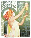 Robette Absinto Pôsters