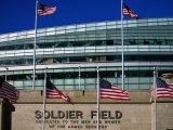 Soldier Field, Chicago, Illinois Fotografisk trykk av Ray Laskowitz