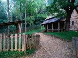 Tipton Place, Cades Cove, Great Smoky Mountains National Park, Tennessee Fotografie-Druck von John Elk III