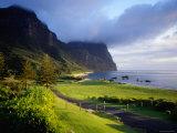 Coastal Landscape, Lord Howe Island, New South Wales, Australia Fotografisk tryk af Peter Hendrie