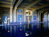 Hearst Castle, Casa Grande, Roman Pool Fotografisk tryk af John Elk III