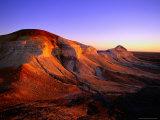 Breakaways at Dawn, Coober Pedy, South Australia Fotografisk trykk av Christopher Groenhout