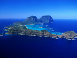 Lord Howe Island, New South Wales, Australia Reproduction photographique par Christopher Groenhout