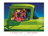 Ich will jetzt losfahren Kunstdrucke von Ron Burns