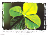 Suerte- Luck Kunstdrucke