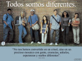 Todos Somos Diferentes- We're All Different Pósters