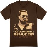 O Grande Lebowski - Mundo de Dor Camisetas