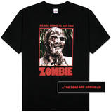 Zombie - We Are Going to Eat You! Camisetas