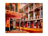 French Quarter Grocery Art by Diane Millsap
