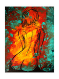 Hidden Beauty Reproduction giclée Premium par Megan Aroon Duncanson