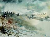 Watercolor 130606 Lámina por Pol Ledent