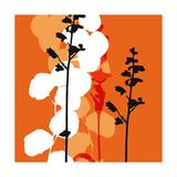 Saffron Indignation Affischer av Jan Weiss