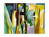 Abstract Variation Kunstdrucke von Hyunah Kim