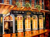 Court of the Two Sisters - New Orleans Art by Diane Millsap