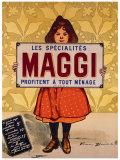 Maggi Giclee Print by Firmin Etienne Bouisset