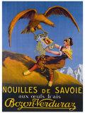 Nouilles de Svoie Giclée-tryk af E.l. Cousyn
