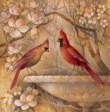 Elegance in Red II Affiches par Elaine Vollherbst-Lane